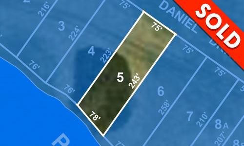 Lot 5 - SOLD - Buffalo Pound Lake - Lakefront Lot - Moose Jaw, Regina - Buffalo Vista Development