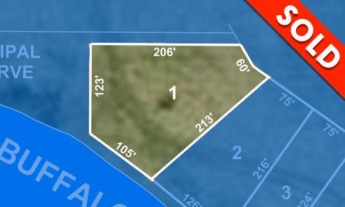 Lot 1 - SOLD - Buffalo Vista - Buffalo Pound - Lakefront Property